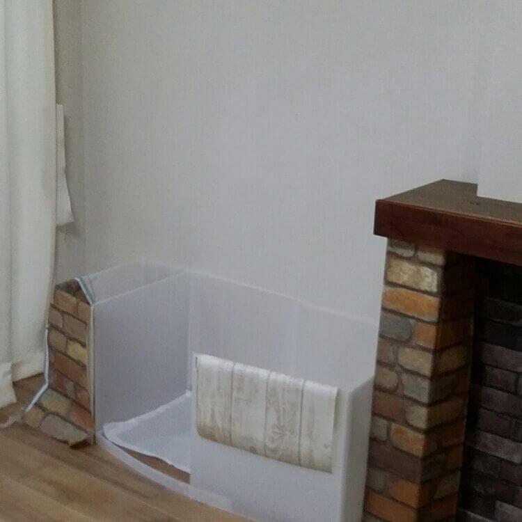 DIYトイレトレー作り方