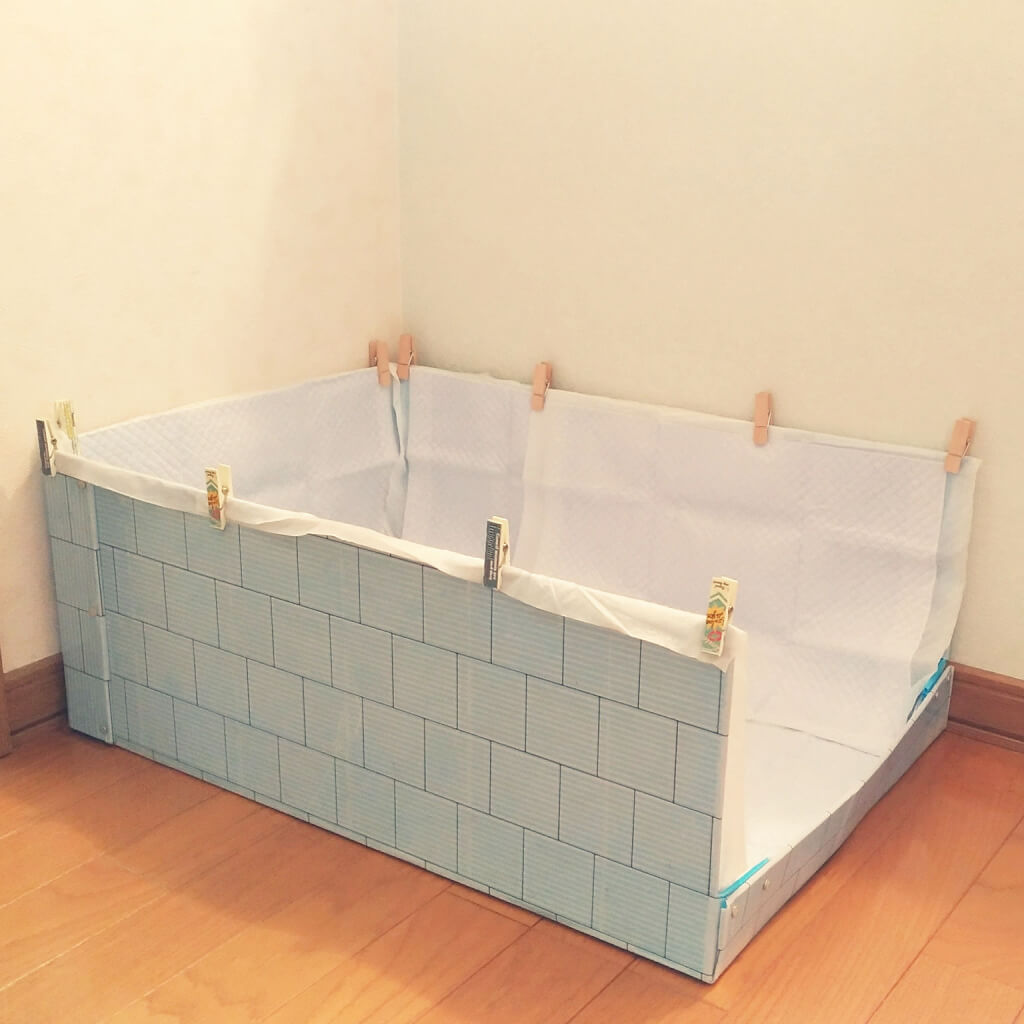 DIY プラダントイレ 作り方