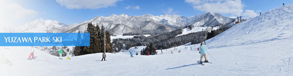 犬連れスキー場 湯沢パーク